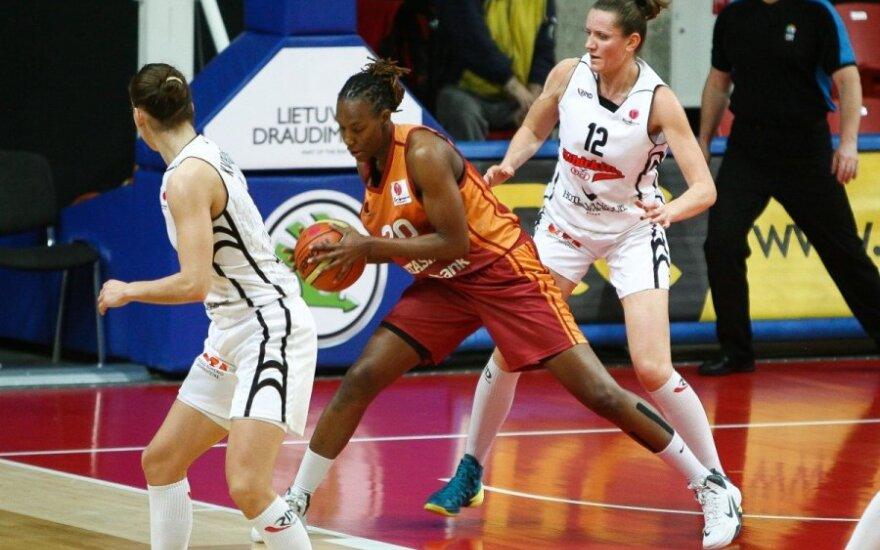 """Moterų Eurolygos sezoną """"Kibirkštis-VIČI"""" užbaigs dvikova su galinga """"Galatasaray"""" ekipa"""