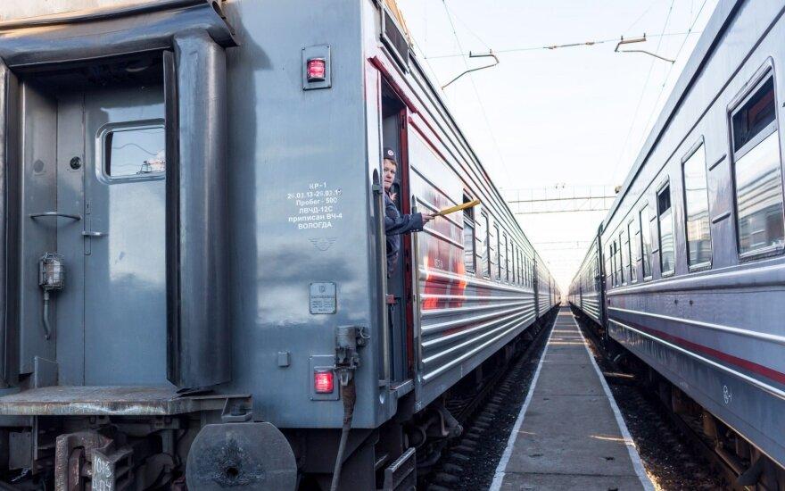 """""""Rusijos geležinkeliai"""" gabens konteinerius iš ES į Kiniją per Lietuvą"""