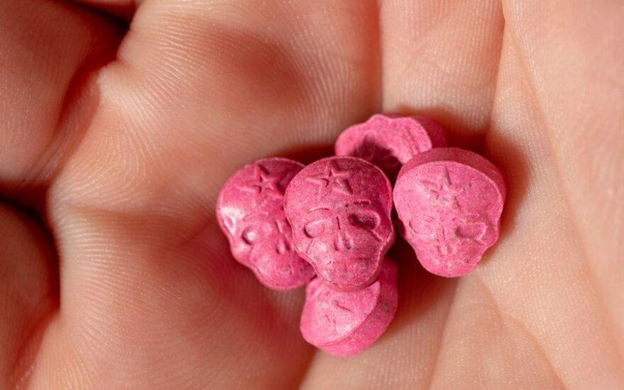 """""""Ecstazy"""" tabletės"""