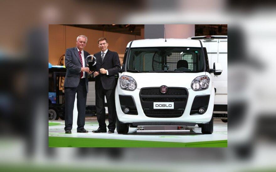 """Tarptautiniu komerciniu automobiliu 2011 m."" išrinktas ""Fiat Doblo Cargo"""