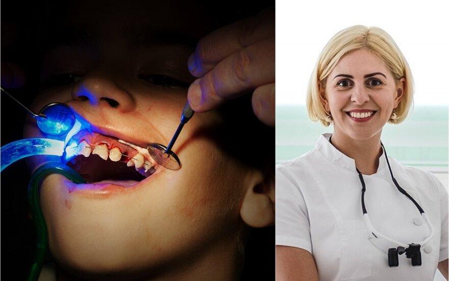 Gydytoja odontologė Rasa Šatkauskienė