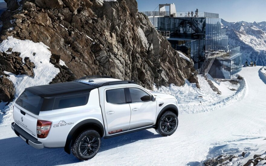 """Renault"" pristato ledui sukurtą ""Alaskan Ice Edition"""