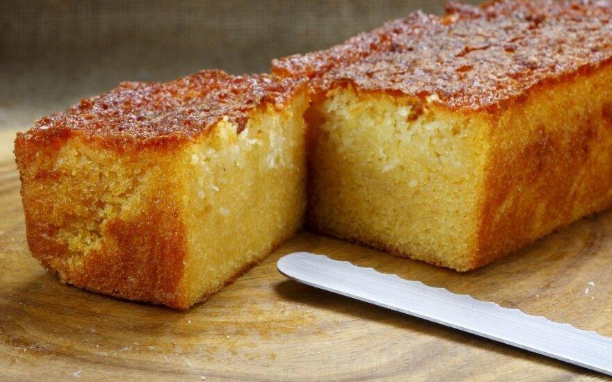 Burnoje tirpstantis sviestinis Sapnų pyragas