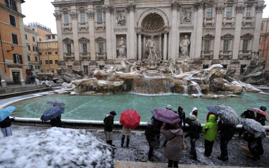 Trevi fontanas