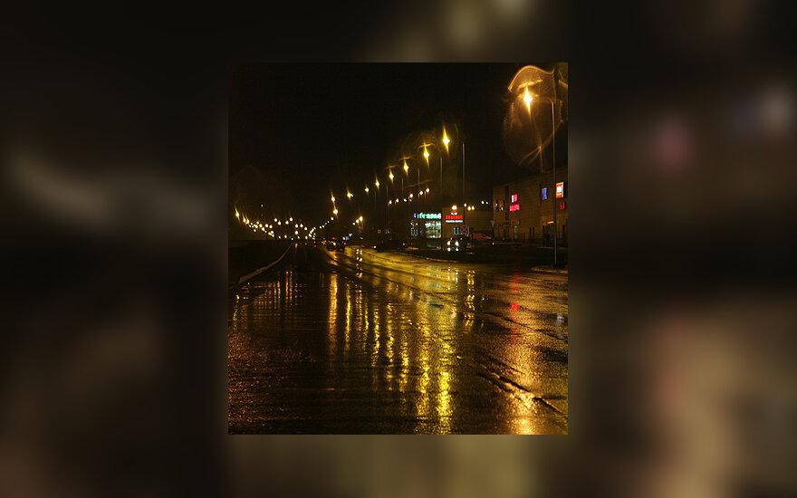 Gatvė naktį