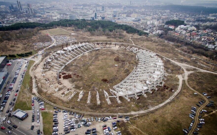 Aiškėja, kaip atrodys atnaujinta sankryža prie Nacionalinio stadiono Vilniuje