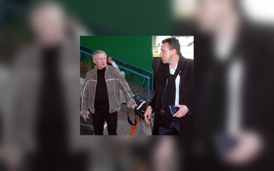 Algimantas Liubinskas ir Valdas Ivanauskas