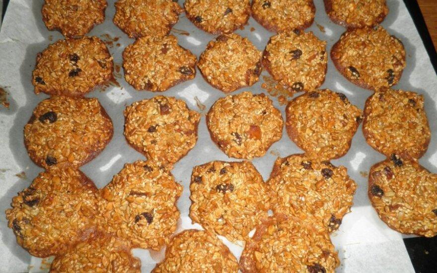 Nesudėtinga ir skanu: sveikuoliški sausainiai