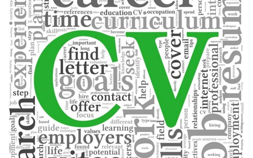 10 patarimų rašantiems CV