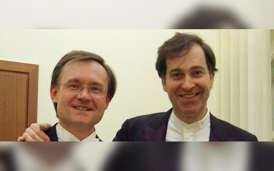 Robertas Šervenikas ir Philippe'as Graffinas         M.Rashkovskiy nuotr.