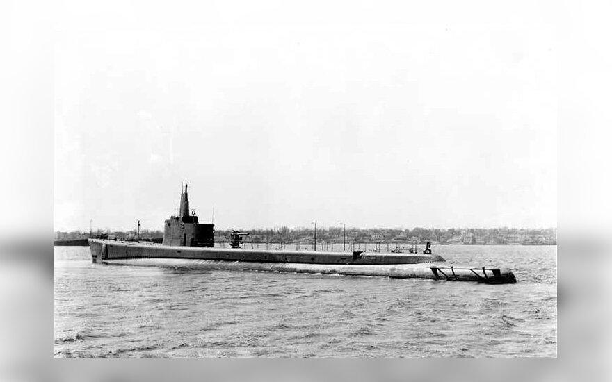 """""""USS Grunion"""" povandeninis laivas"""