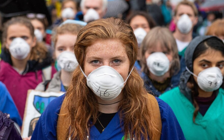 Protestas Amsterdame