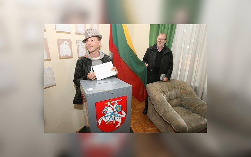 Sasha Son(g) savo pilietinę pareigą atliko Maskvoje