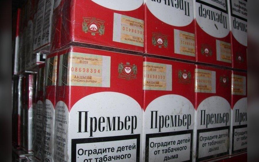 ES dėl cigarečių kontrabandos kasmet praranda 10 mlrd. eurų