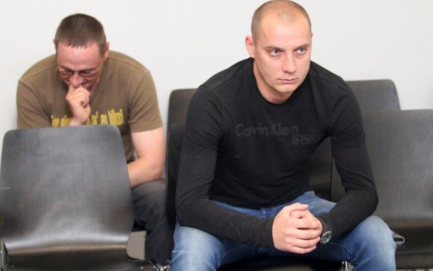 Egidijus Simokaitis ir Tomas Pakutka