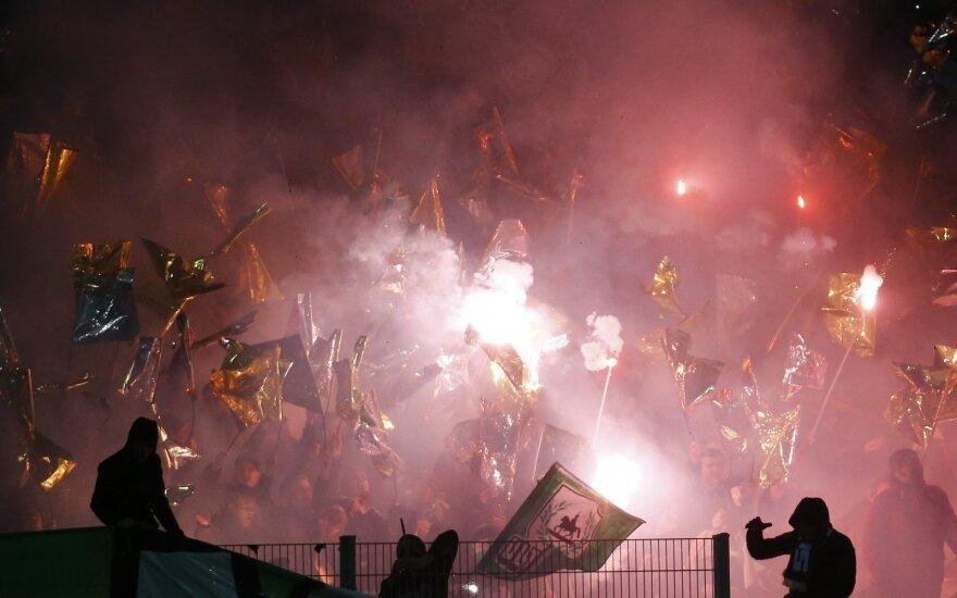 """Hannover 96""  futbolo klubo gerbėjai"