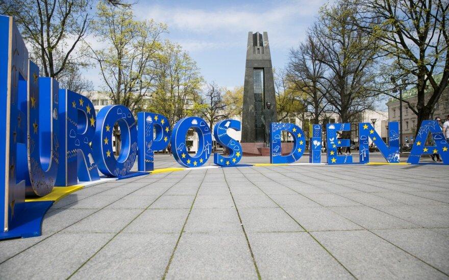 Europos dienos renginių metu Vilniuje - laikini eismo ribojimai
