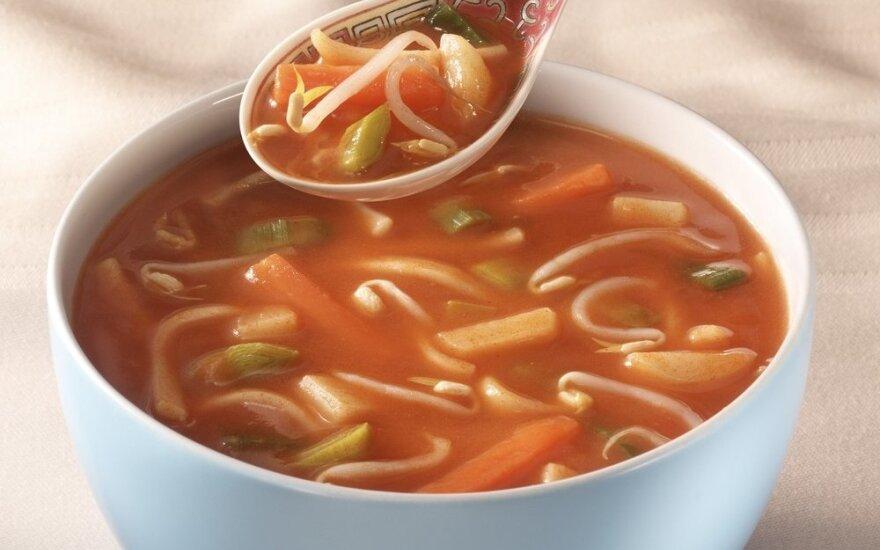 LKL FIT virtuvėje: paprasta ir gardi kiniška sriuba vos iš 3 ingredientų