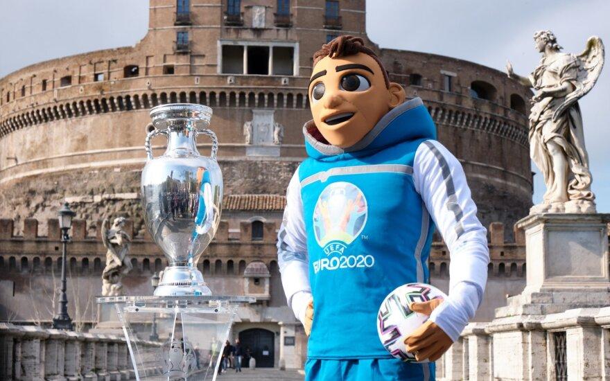 Europos futbolo čempionato talismanas Romoje