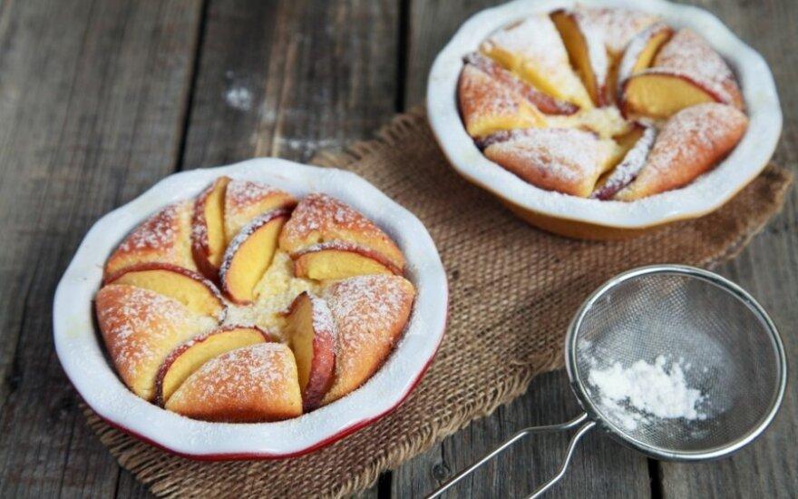 Varškės ir obuolių suflė