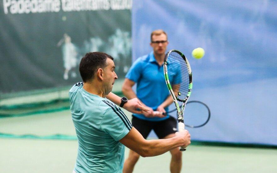 SEB arenos kortuose – atkaklios Baltijos šalių DELFI teniso turnyro kovos