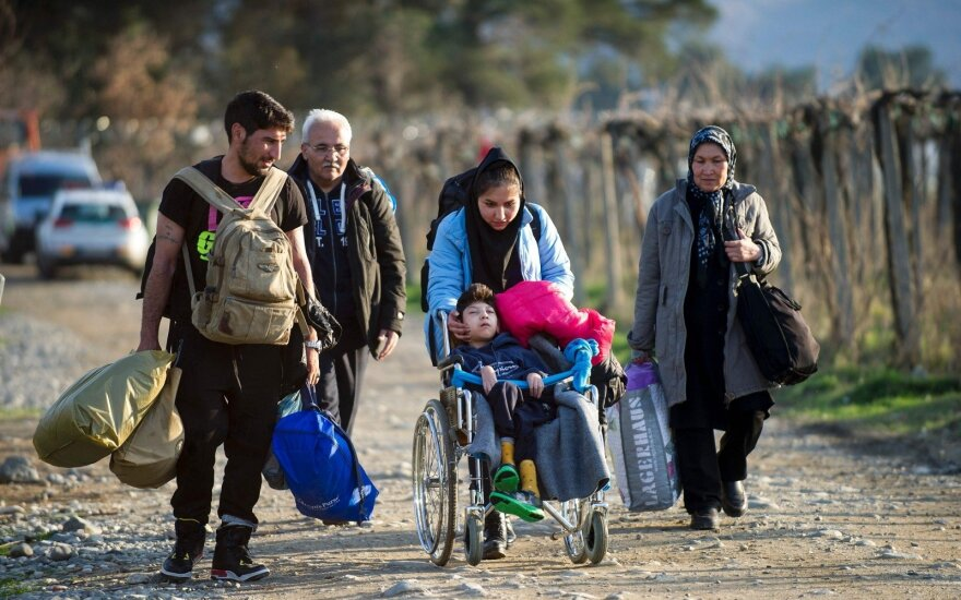 Poll: Should Lithuania accept more refugees?