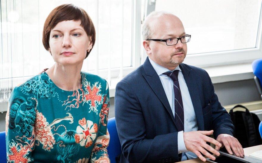 Monika Garbačiauskaitė-Budrienė, Gytis Oganauskas