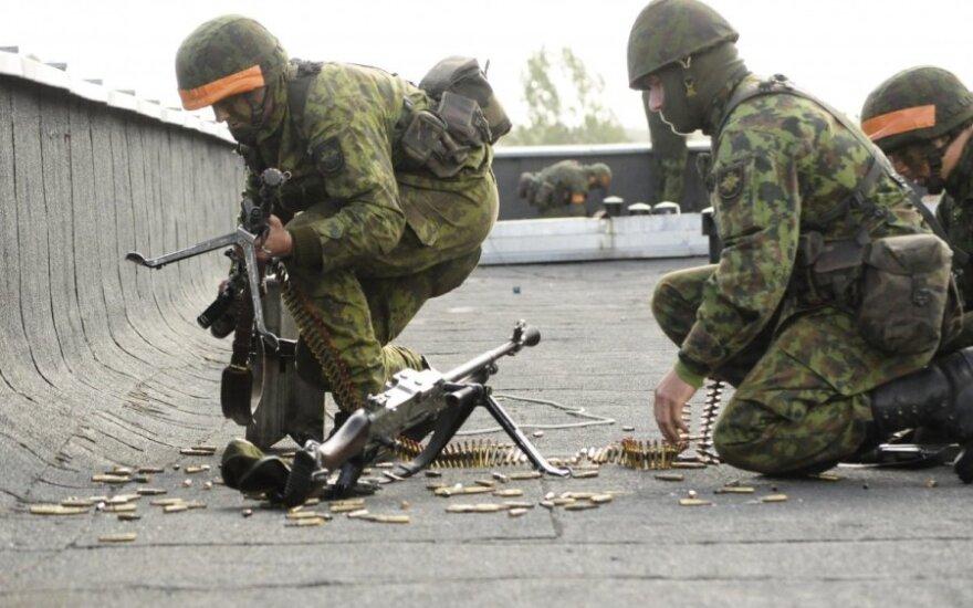 Baltijos regione pirmą kartą vyksta JAV vadovaujamos oro gynybos pratybos