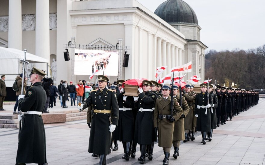 Three-state celebration: Vilnius hosts state funeral for commanders of 1863-1864 uprising