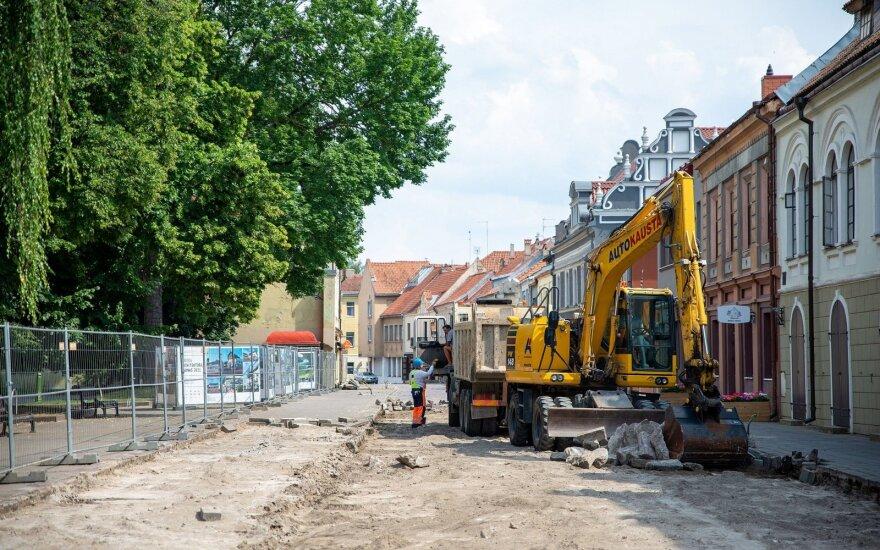 Prasidėjęs Vilniaus gatvės kapitalinis remontas