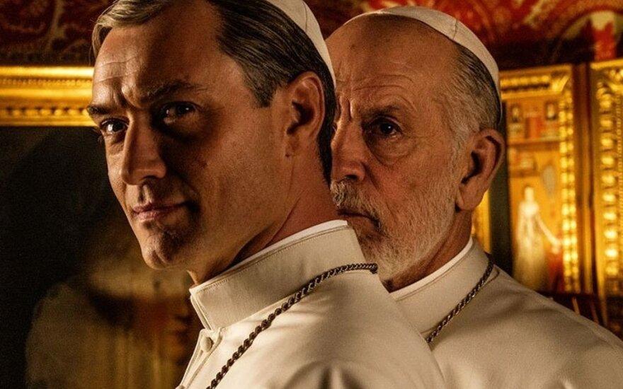 """Filmo """"Naujasis popiežius"""" plakatas"""