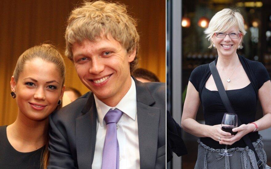Mindaugas Kuzminskas, Eglė Andreikaitė, Laima Janušonytė