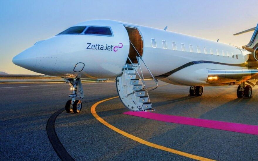 Prabangių lėktuvų rinka kaista: parduodami net naudoti lėktuvai