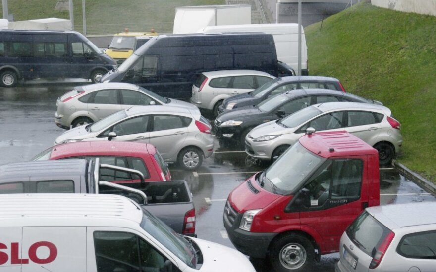 Automobilių stovėjimo aikštelė, parkingas