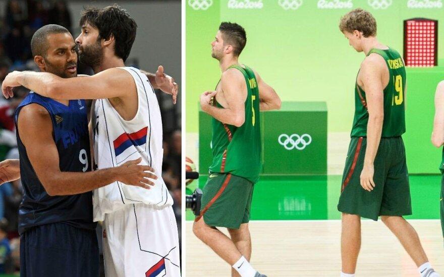 Po nesėkmingos Rio olimpiados – Lietuvos rinktinės krytis iš FIBA reitingo aukštumų