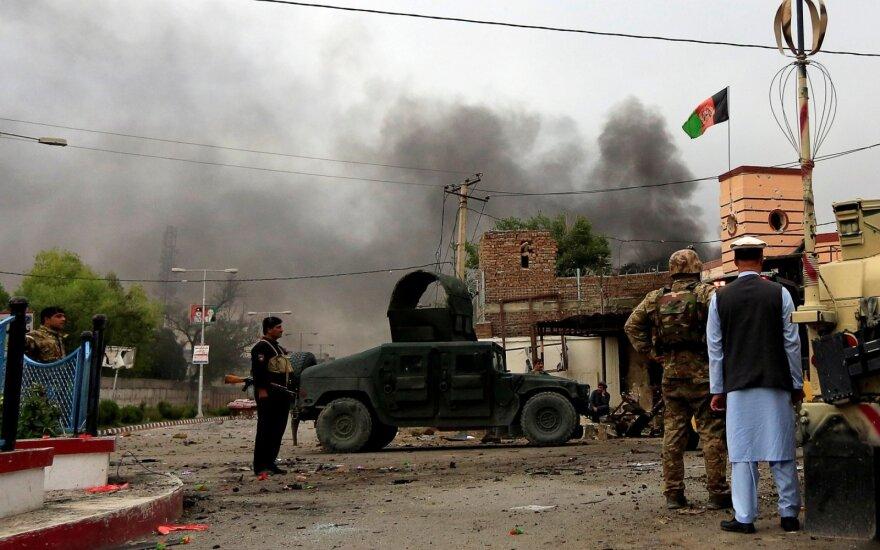 Talibano kovotojai šturmavo Vakarų Afganistano provincijos sostinę