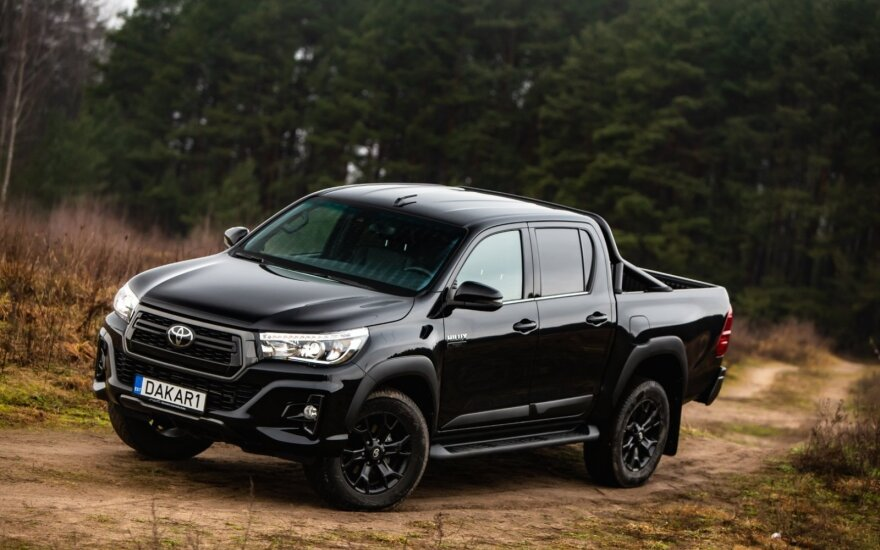 """Toyota Hilux Benediktas Vanagas Edition"""