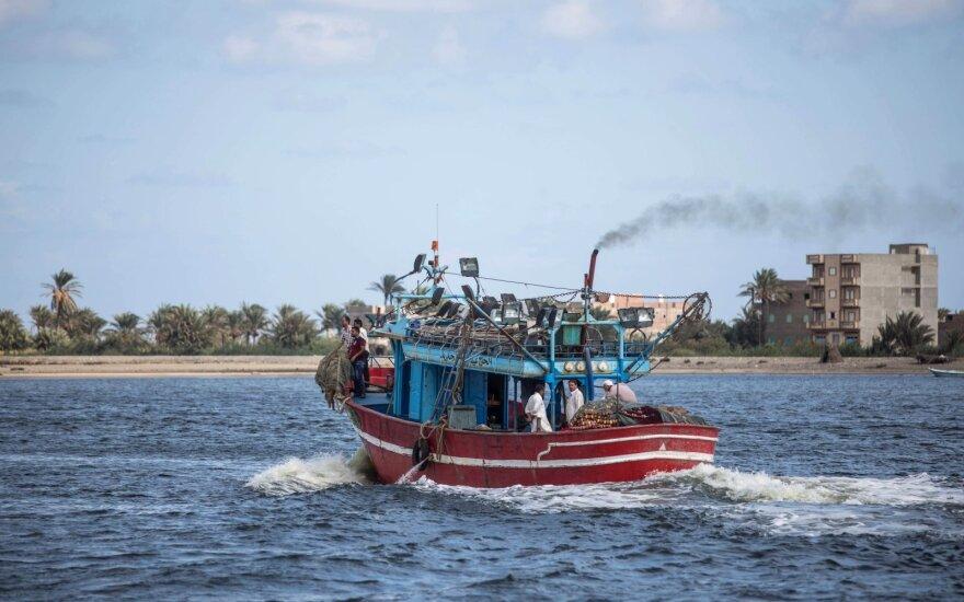 Jonijos jūroje nuskendus migrantų laiveliui žuvo mažiausiai 12 žmonių