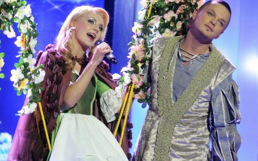 Monika Kvietkutė ir Ruslanas Kirilkinas