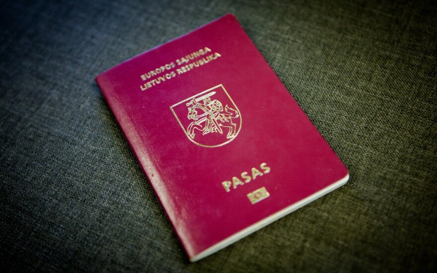 Lithuanian passport