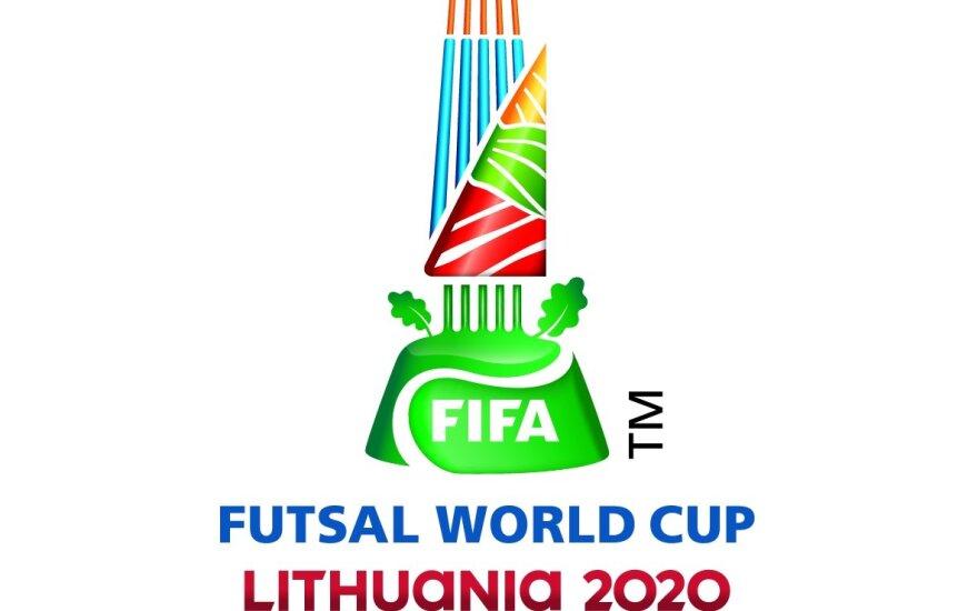Pasaulio salės futbolo čempionato 2020 emblema