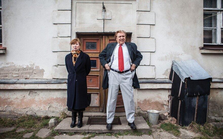 Eglė Mikulionytė and Vyto Ruginis. Film Miracle @ Matas Astrauskas