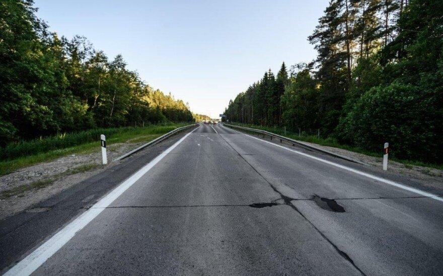 Kelio Vilnius–Utena rekonstrukcija