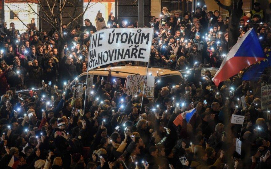 Protestas Prahoje