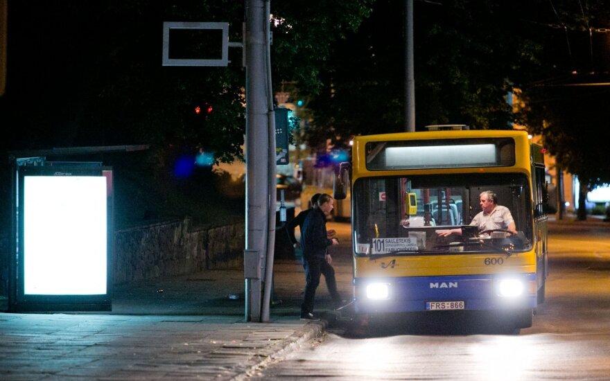 Vilnius reintroducing night bus service