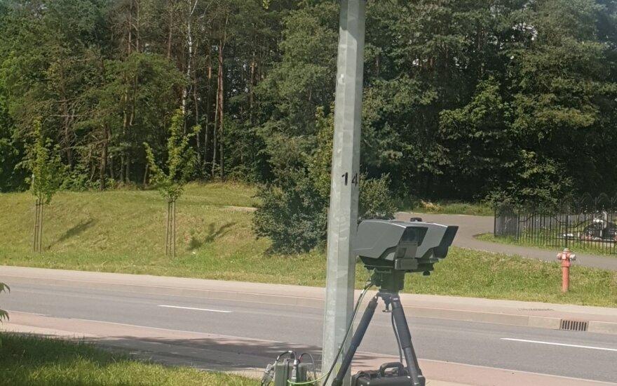 Trakų rajone pareigūnai padirbėjo su trikoju: 763 greičio pažeidėjai ir 6 neblaivūs vairuotojai
