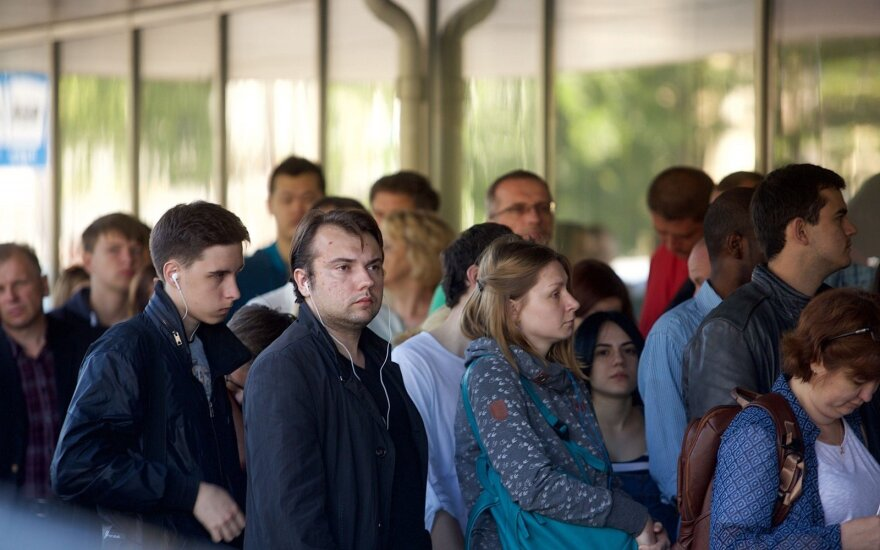 Migracijos departamentas: imigracijos srautai praeitais metais išaugo 21 proc.