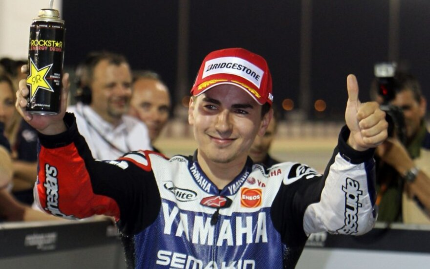"Jorge Lorenzo (""Yamaha"")"