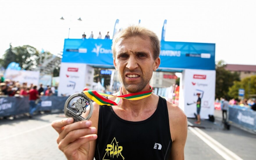 Vilniaus maratono nugalėtojais tapo vyras ir žmona iš Ukrainos