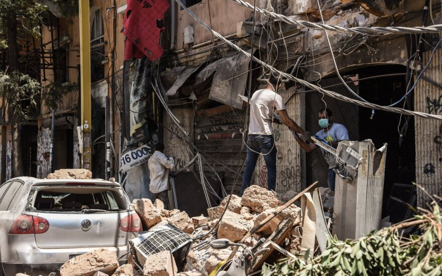 Pasaulio bankas: Libano sprogimas kainavo daugiau nei 8 mlrd. dolerių